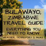 Bulawayo travel guide zimbabwe