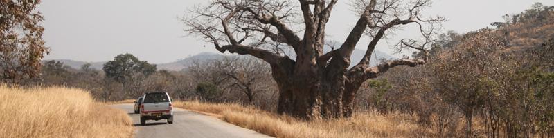 Zimbabwe road guide