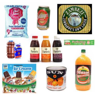 Iconic Zimbabwean food brands