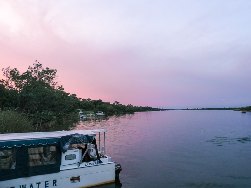 Victoria Falls Zambezi Boat