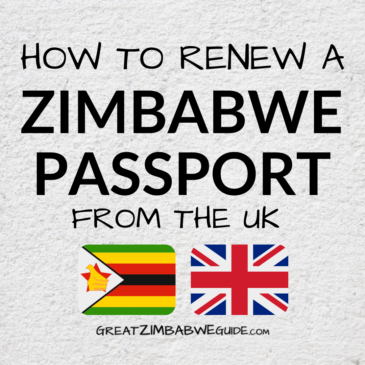 How to renew a Zimbabwe passport from the UK: Step by step