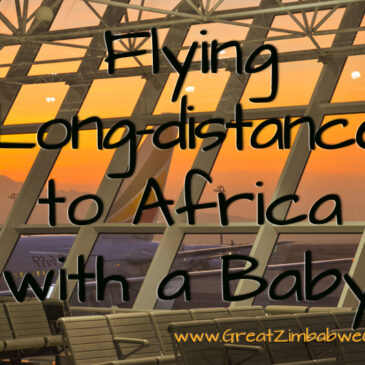 Tips for flying to Africa with a baby: Survival guide