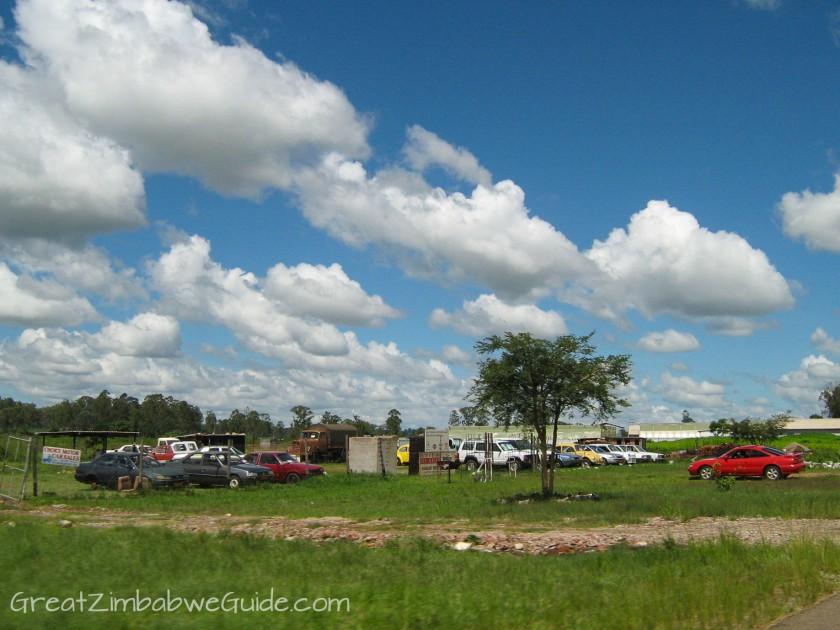 Great Zimbabwe Guide 2008 Car Road
