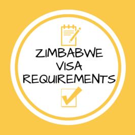 Zimbabwe Visa Requirements