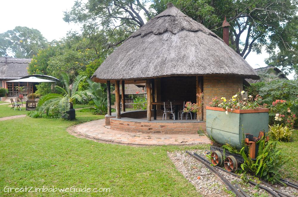 Mbizi Game Park Zimbabwe lodge garden