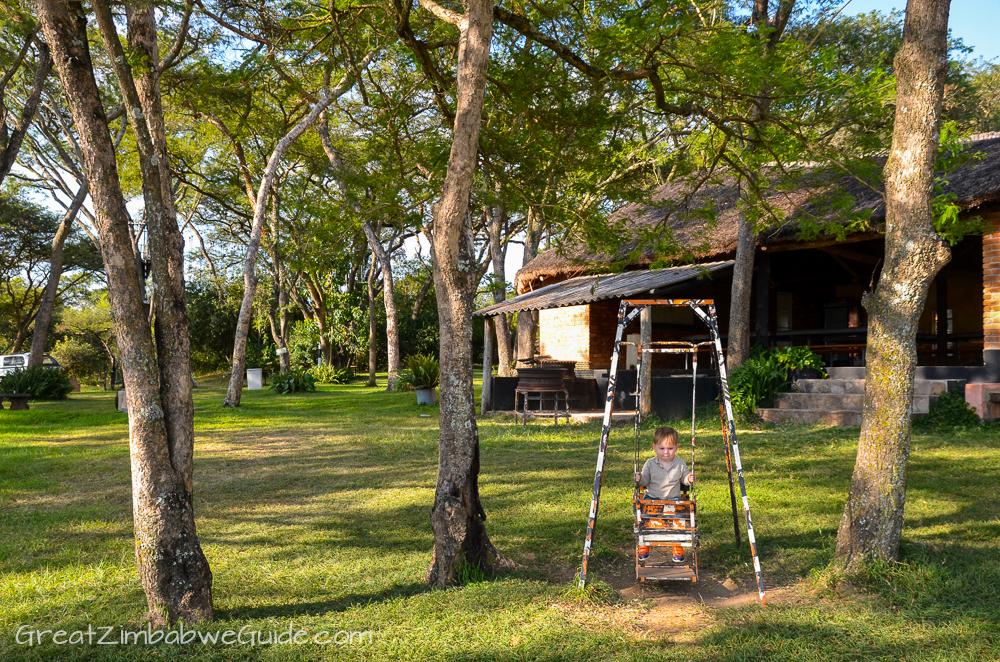 Mbizi Game Park Zimbabwe picnic area