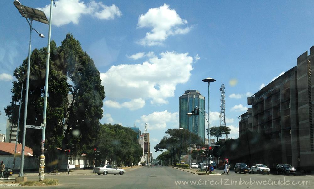 Harare Zimbabwe Street