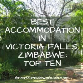 best accommodation in victoria falls zimbabwe