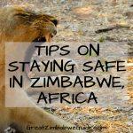 Safety in Zimbabwe Africa