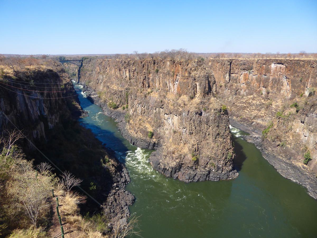 Zambezi River Victoria Falls Zimbabwe Africa