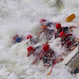 Zimbabwe safari white water rafting