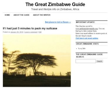 First Post Great Zimbabwe Guide