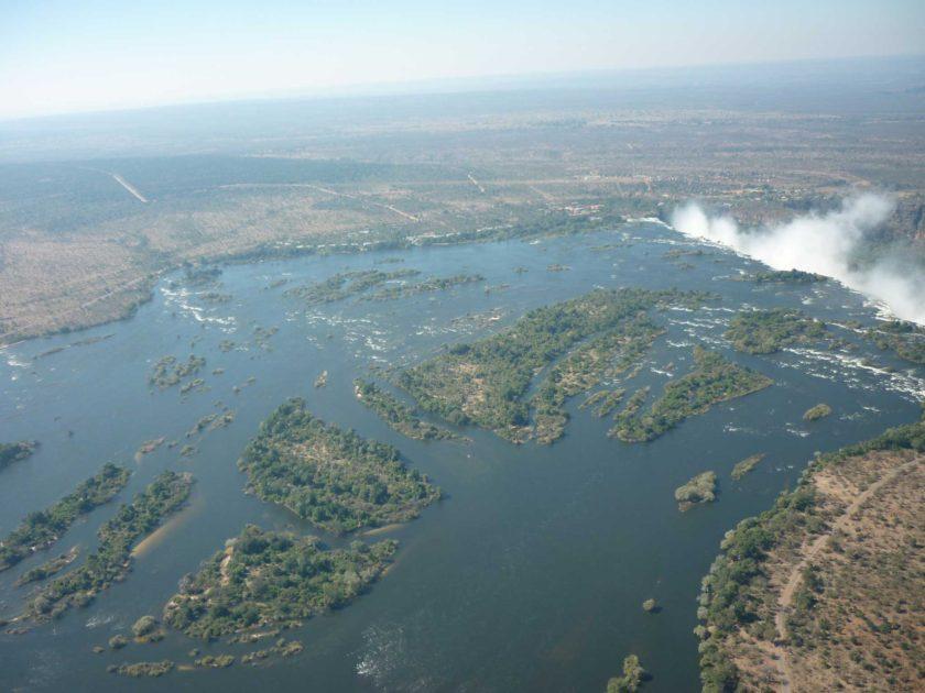 ZIMBABWE-TOUR-VICTORIA-FALLS-AERIAL