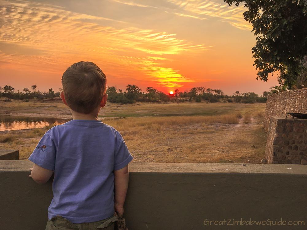 GreatZimbabwe Sunset Kariba