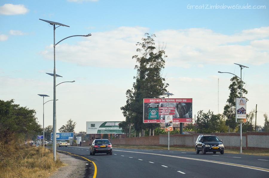 Harare Road GreatZimbabweGuide Signs 2