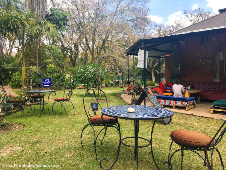 Harare Zimbabwe Garden Cafe