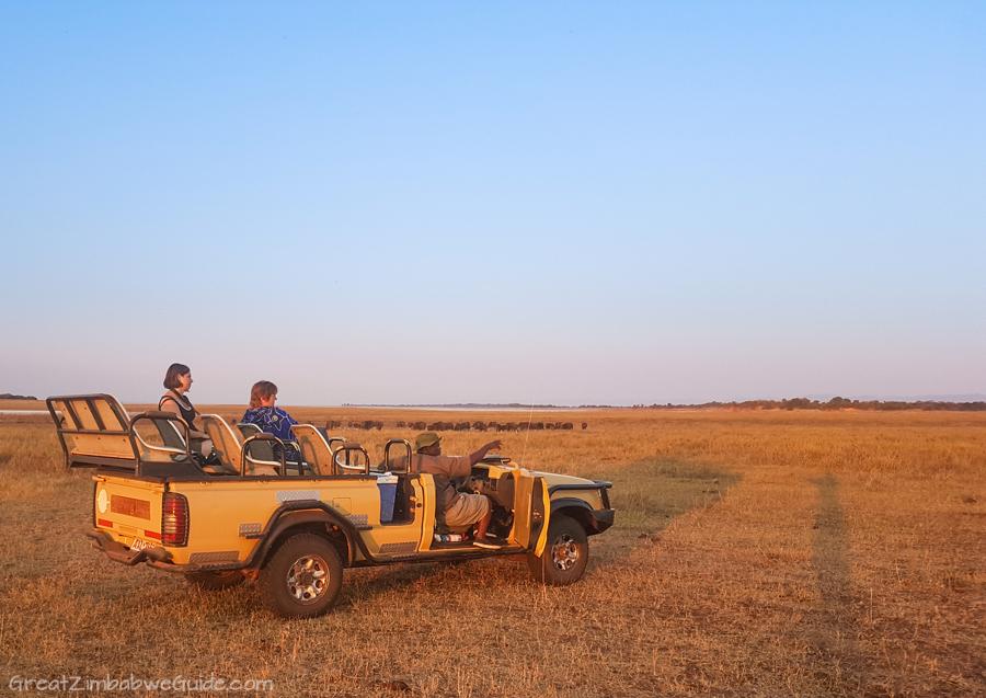 Matusadona National Park Kariba Zimbabwe Drive