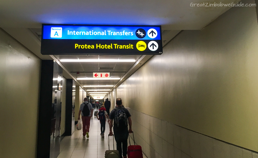 Transit through Johannesburg International Airport Transfer Info 02