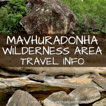 Mavhuradonha Wilderness Area: travel information