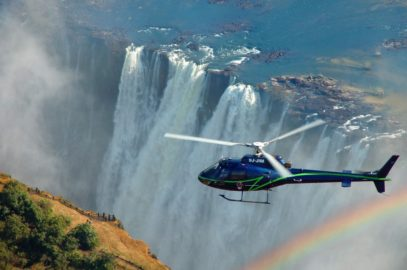 ABS Victoria Falls helicopter flight