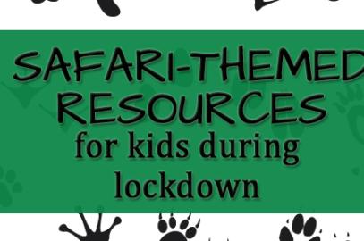 KIDS SAFARI LOCKDOWN RESOURCES PRINT 3