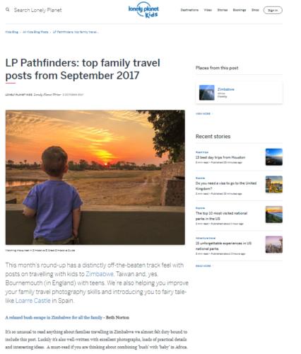 Lonely Planet Zimbabwe Beth Norton