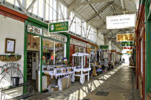Bideford Pannier Market Butchers Row Shops