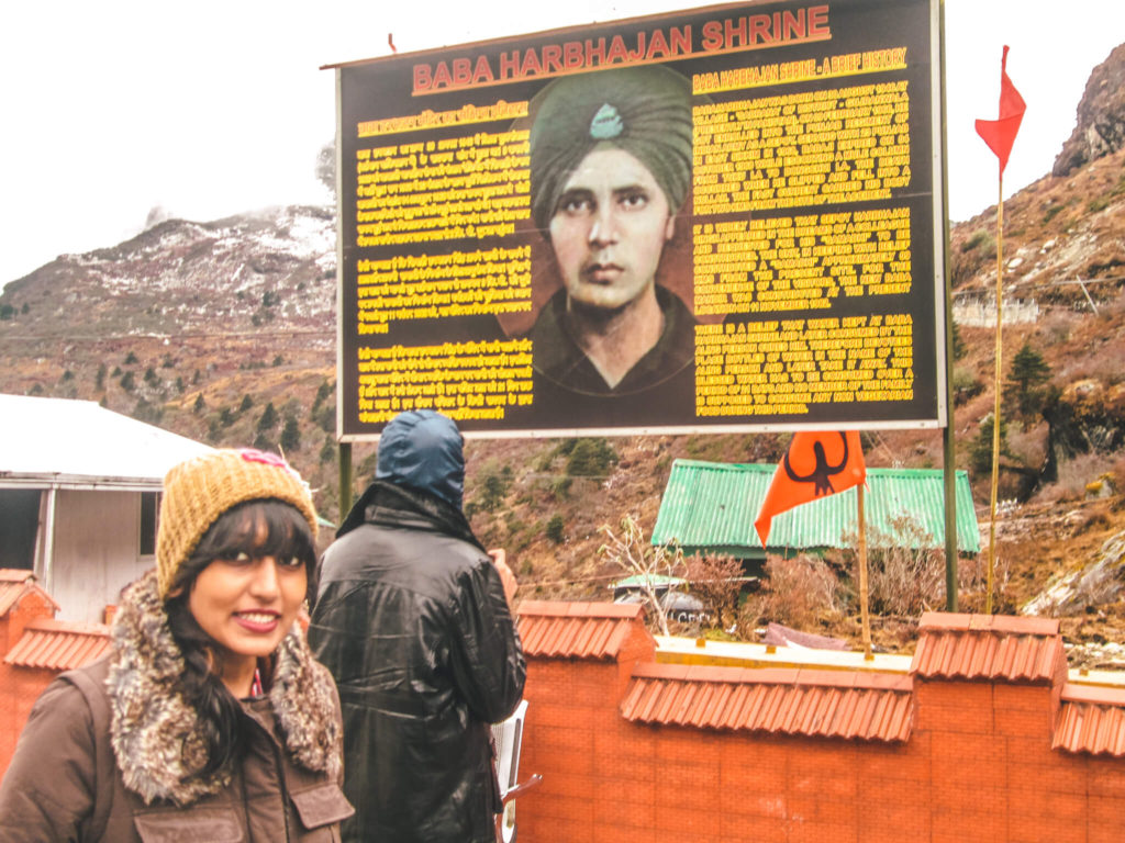 Baba Harbhajan Singh temple in places to visit in Gangtok sightseeing guide