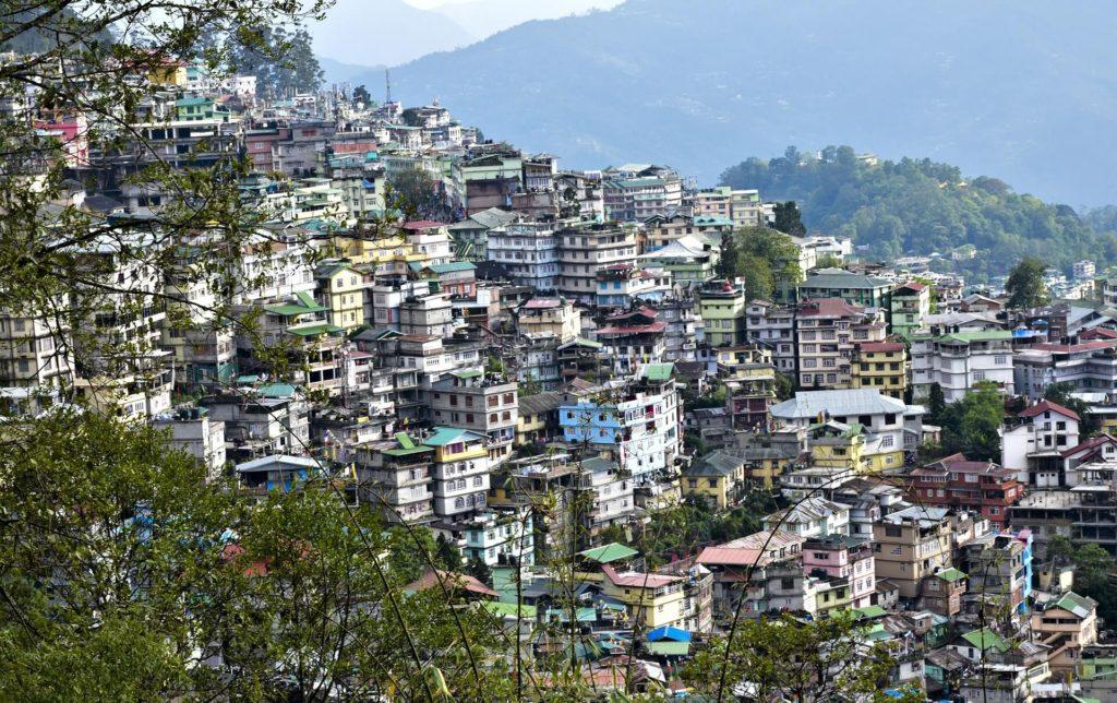MG Road for shopping in Gangtok Sikkim