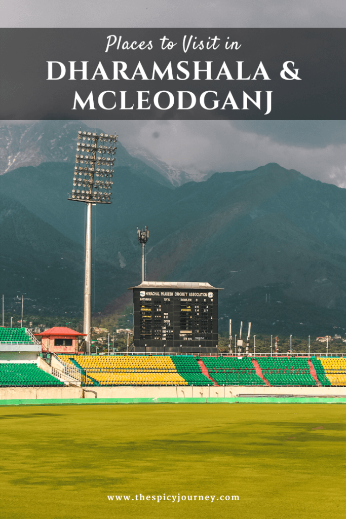 Places to Visit in Dharamshala and Mcleodganj Pinterest Graphic