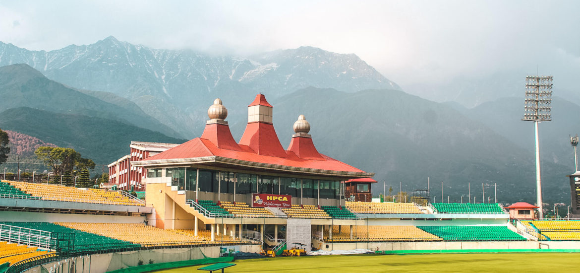 HPCA Cricket Stadium in Dharamshala