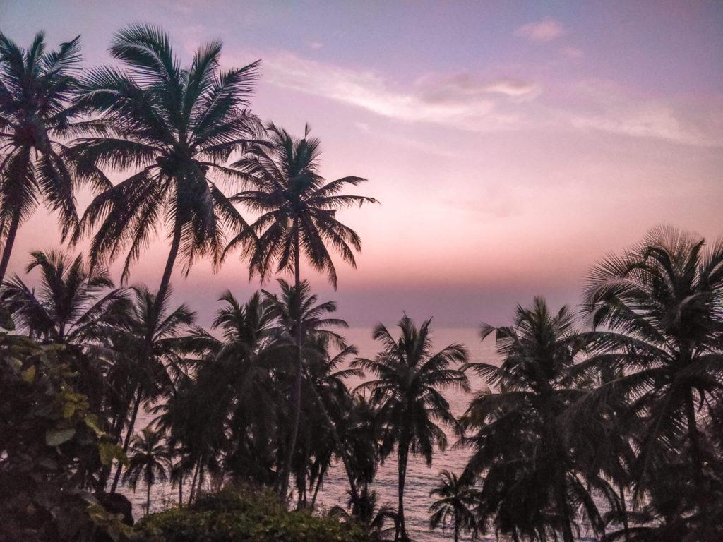 Cabo de Rama Beach Sunset