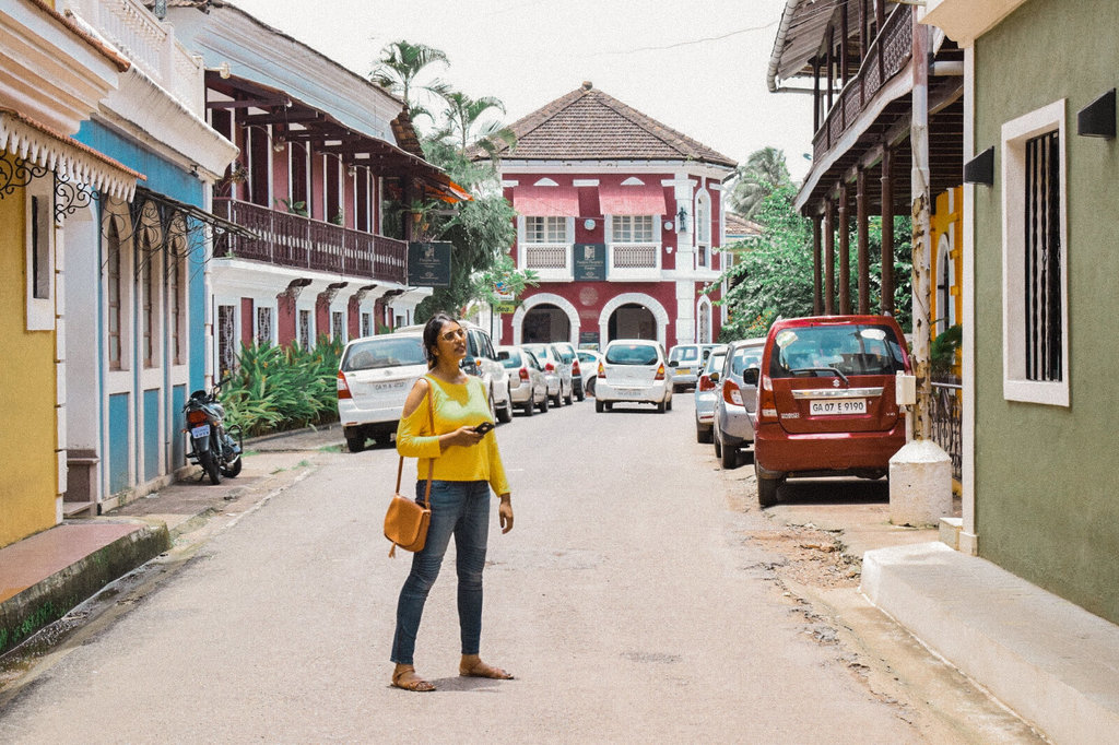 Fontainhas - one of the offbeat places in Goa