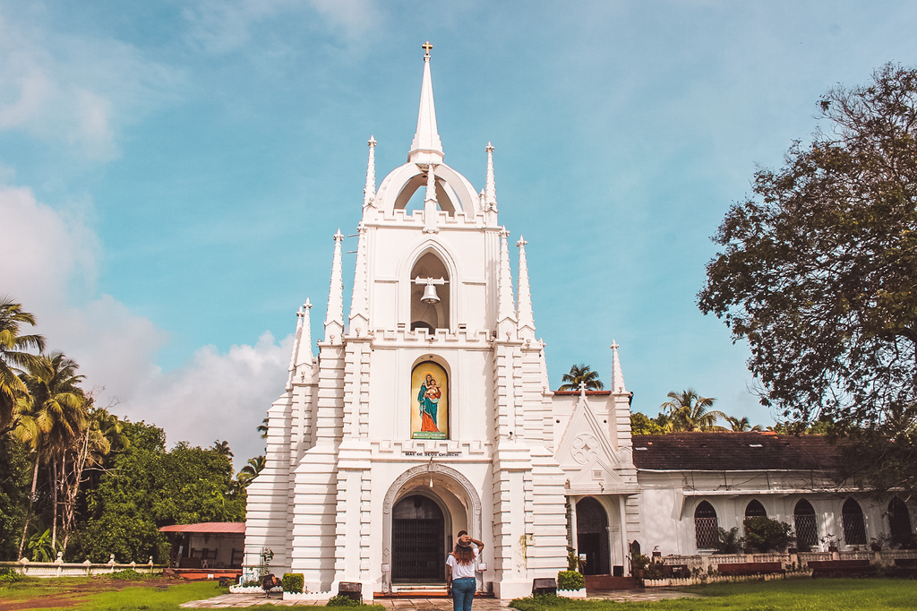 Mae de Dus church - one of the offbeat places to visit in Goa