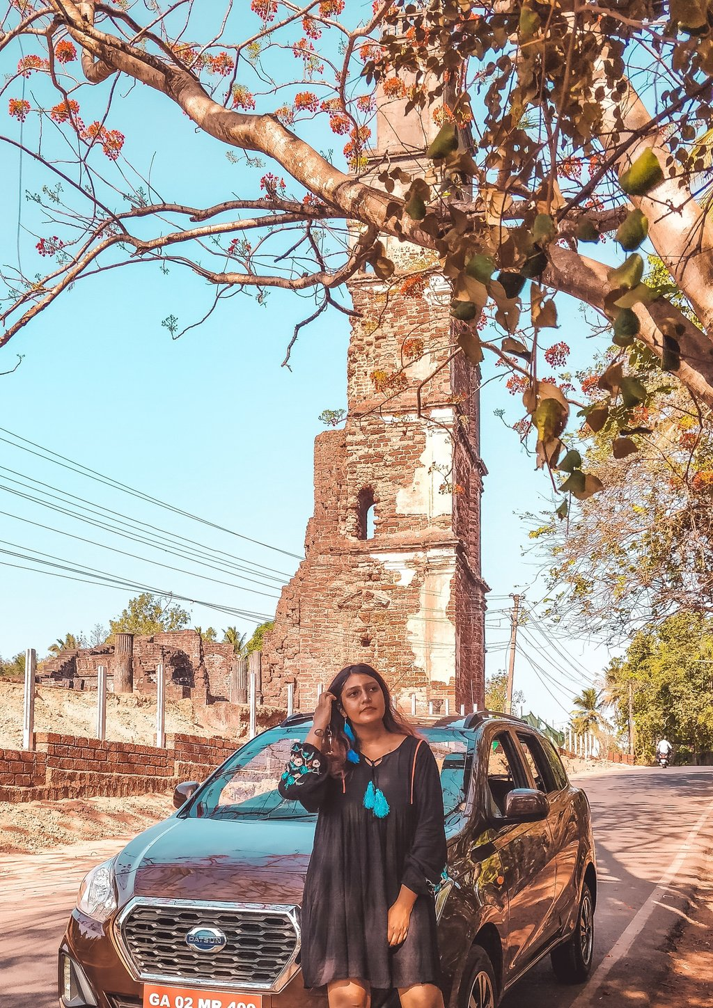 St Augustine Tower in offbeat Goa