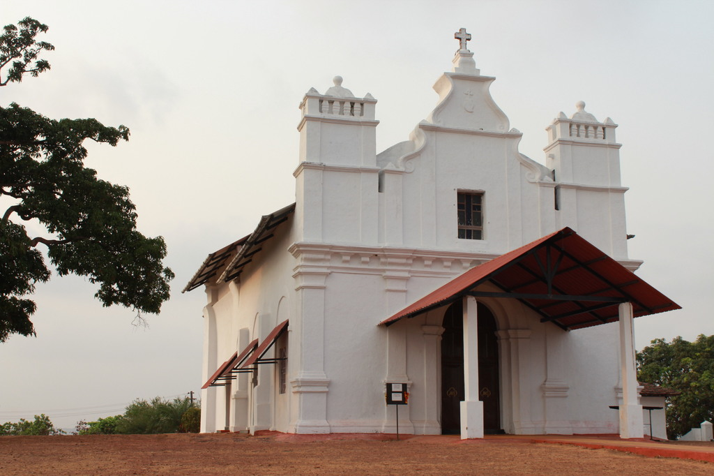 Three Kings Church in offbeat places in Goa