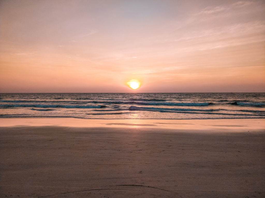 Agonda beach in guide to the beaches of South Goa