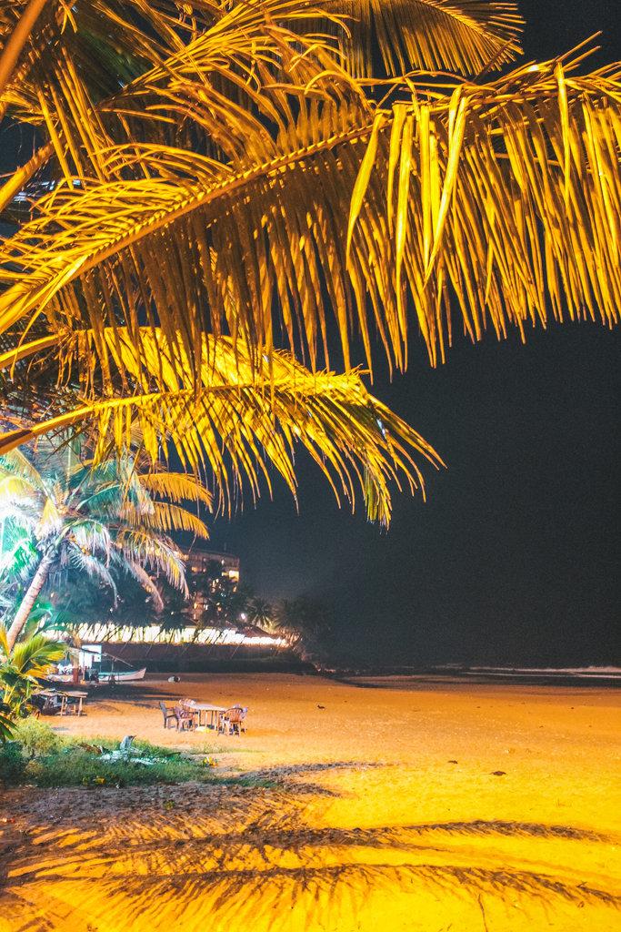 Bogmalo beach in South Goa beaches