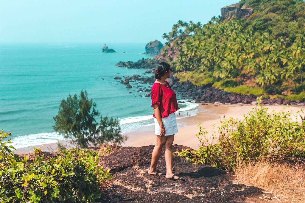 Cabo de Rama beach in guide to the beaches of South Goa
