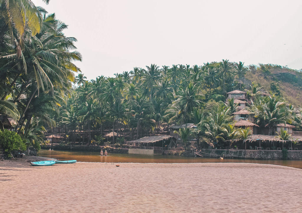 Cola beach in guide to the beaches of South Goa