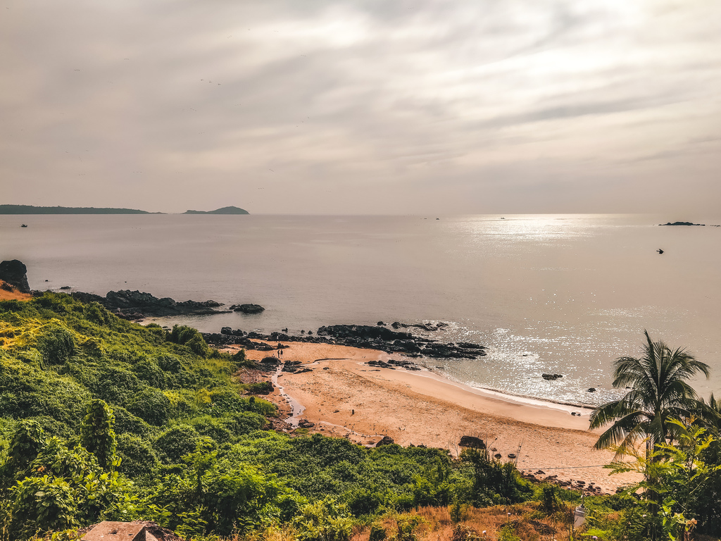 Granmothers Hole beach in South Goa beaches