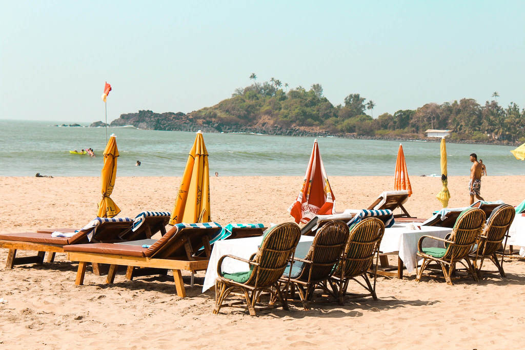 Patnem beach in guide to the beaches of South Goa