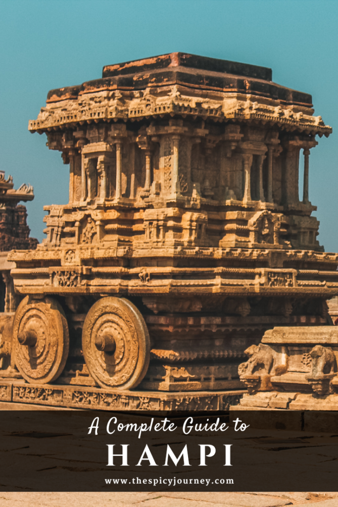 2 Days in Hampi Pinterest Graphic