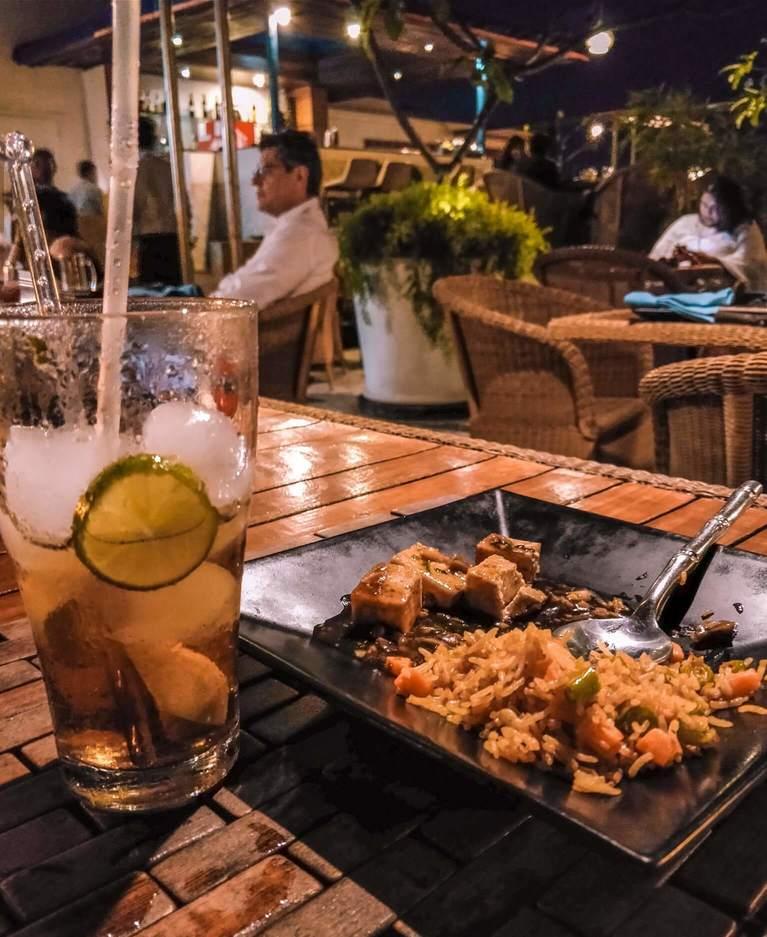 Bay of Buddha - One of the best restaurants in Pondicherry
