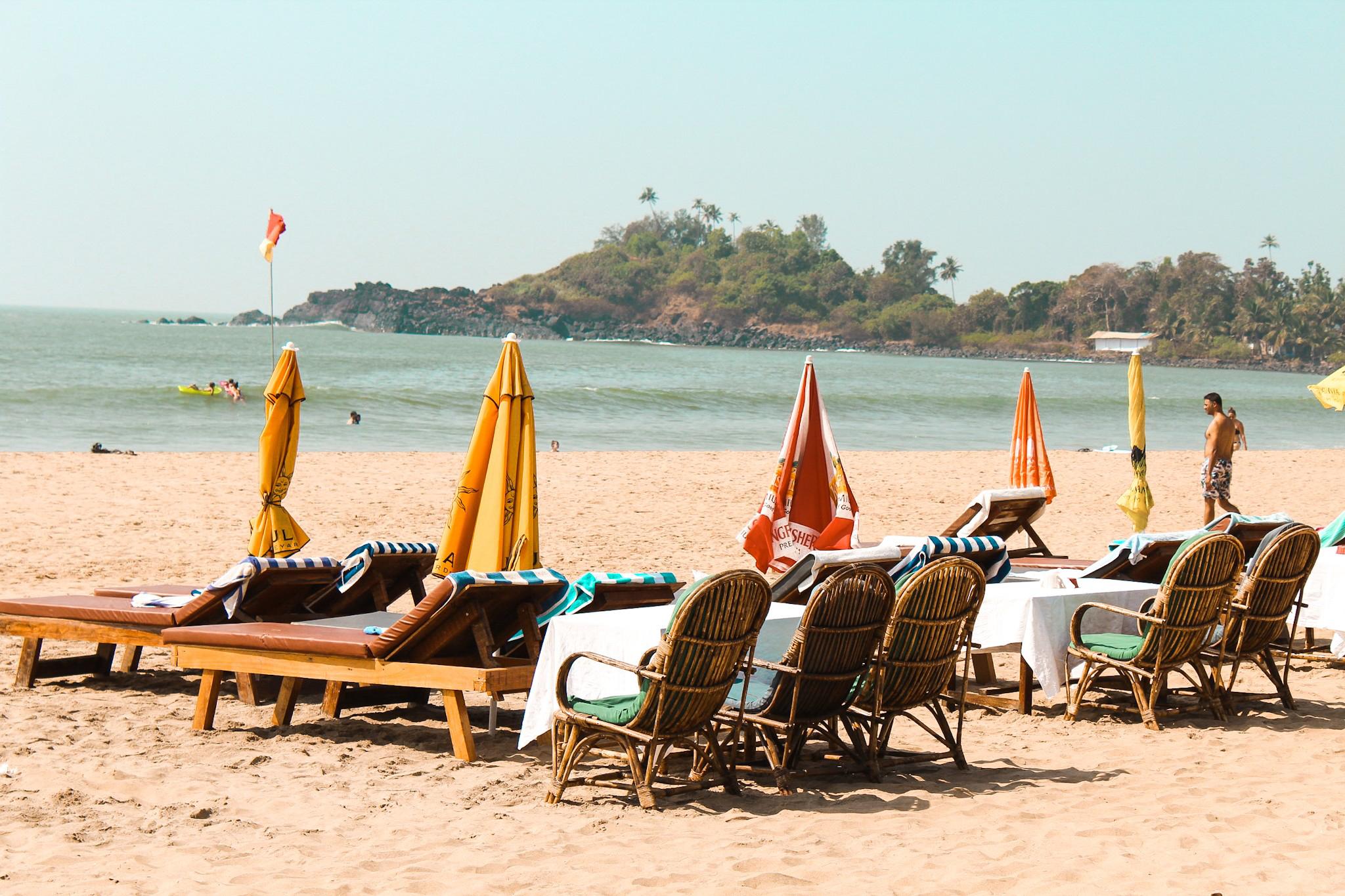 Patnem beach in South Goa