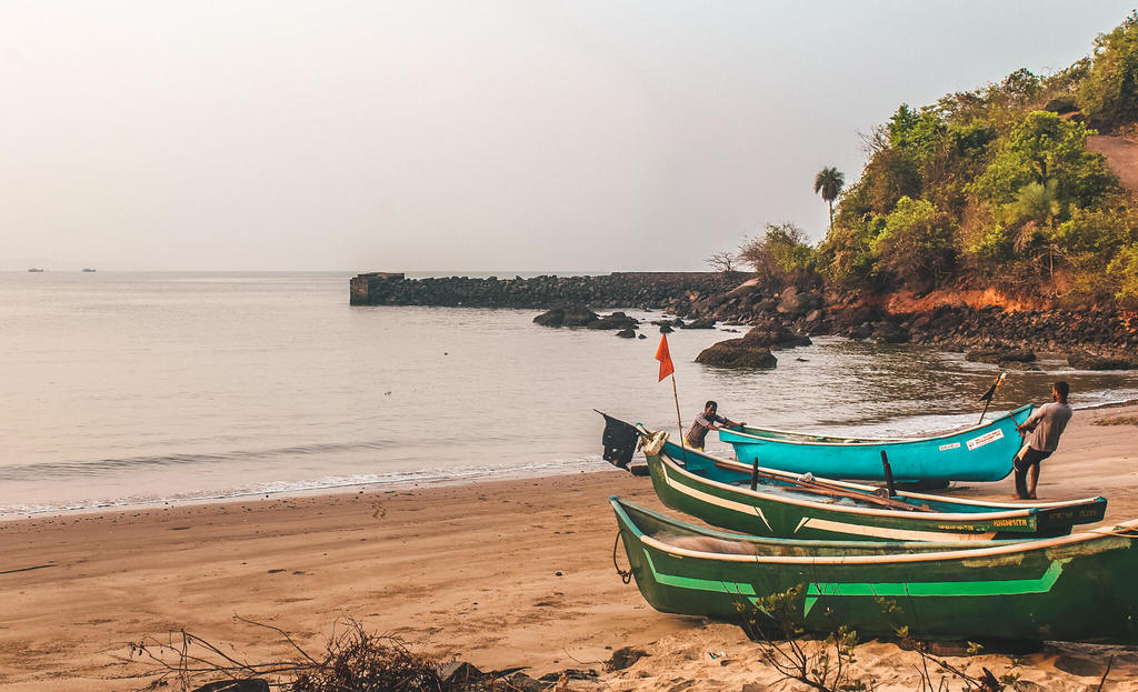 Gokarna beach trek guide - Belekan beach