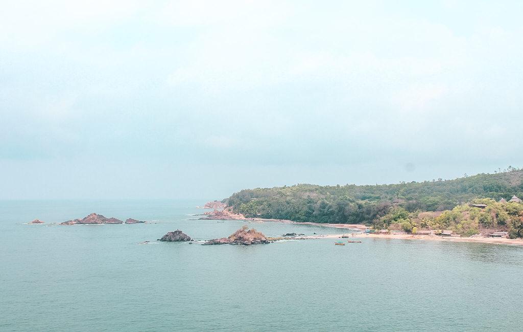 Gokarna beach trek guide - Om beach
