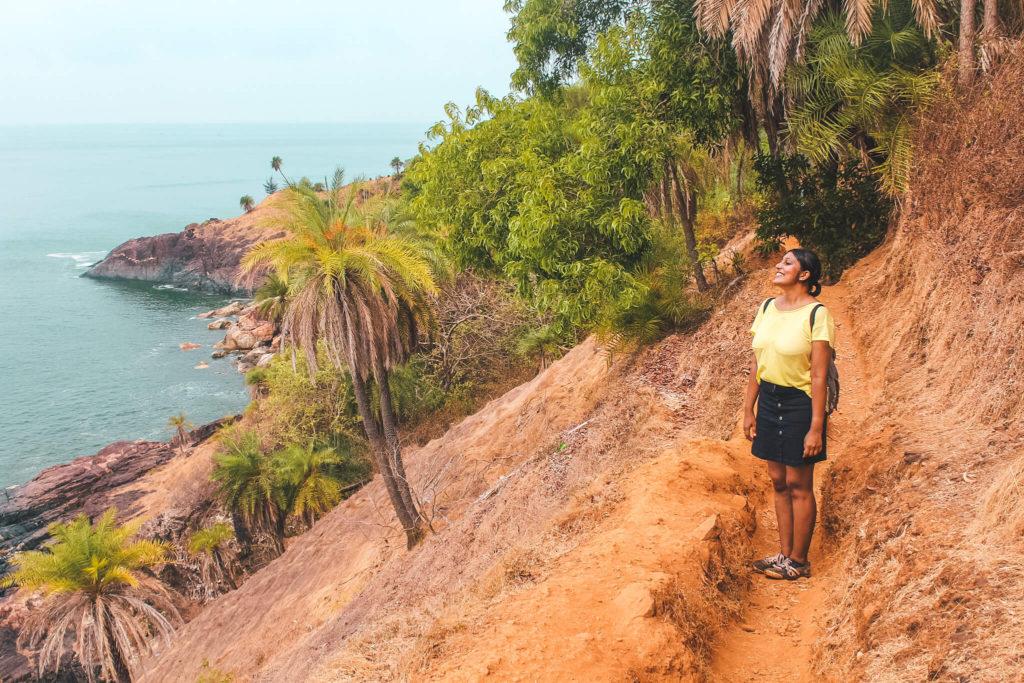Gokarna Beach Trek Route, Places to Visit in Gokarna Karnataka, 2 Day Itinerary for Gokarna Trip