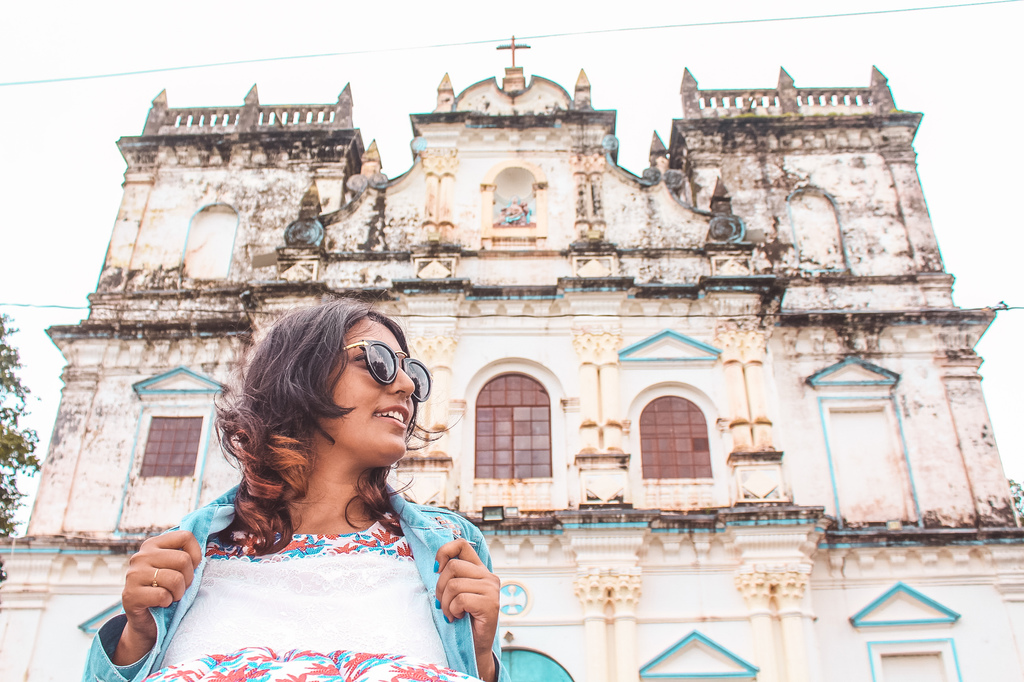 Divar Island Church - Instagrammable Spots in Goa