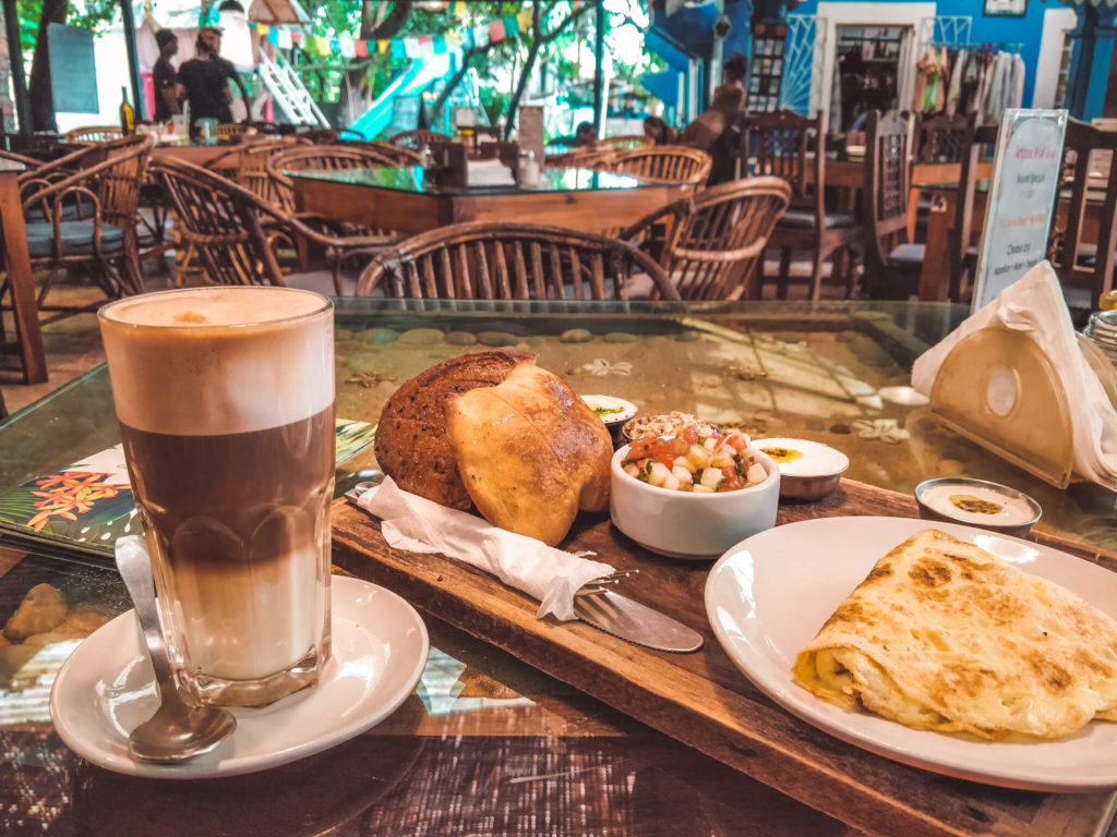 Artjuna one of the best cafes in North Goa